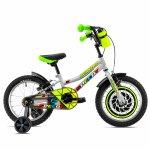 Bicicleta copii Dhs 1603 gri 16 inch