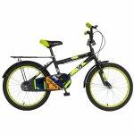 Bicicleta copii 20 inch Rich Baby R2001A negru / verde 7-10 ani