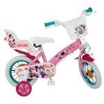 Bicicleta pentru fetite Minnie Mouse Club House 12 inch