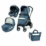 Carucior 3 in 1 Peg Perego Book 51 Titania Lounge Luxe Mirage 0 - 22 kg