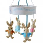 Carusel muzical pentru patut Peter Rabbit