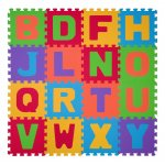 Covoras puzzle litere Baby Ono din spuma 16 buc