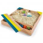 Cutie de nisip si cutie de jucarii Store-It Plum