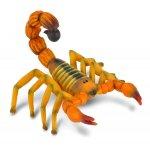 Figurina scorpion galben pictata manual M Collecta