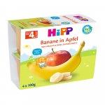 Gustare Hipp cu fructe mere si banane 4x100 gr
