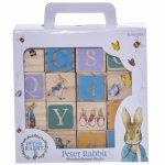 Joc 16 cuburi din lemn Peter Rabbit