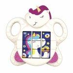 Jucarie muzicala puzzle unicorn