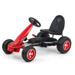 Kart cu pedale pentru copii Viper Red