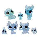 Set 7 animalute LPS tinutul inghetat albastru