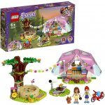 Lego Friends camping luxos in natura