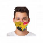 Masca textila reutilizabila cu buzunar Abstract Shapes