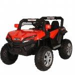 Masinuta electrica cu scaun de piele si suspensii Nichiduta Jeep 4x4 Red