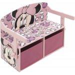 Mobilier 2 in 1 pentru depozitare jucarii Minnie Mouse