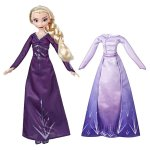 Papusa Elsa Disney Frozen 2 cu rochita de schimb
