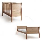 Patut din lemn masiv transformabil pentru bebe si junior Noble Vintage