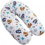 Perna pentru gravide si alaptat Rogal 170 cm Infantilo ursuleti albastru inchis