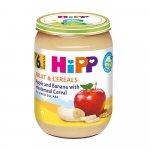 Piure Hipp Fruct & Cereale cu mere si banana 190 gr