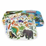 Set 150 autocolante stickerz reutilizabile cu animale