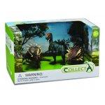 Set 3 figurine dinozauri pictate manual Collecta