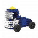 Set de construit Clicformers Craft albastru 25 de piese