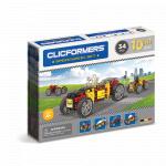 Set de construit Clicformers Masini de viteza 34 piese
