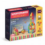 Set magnetic de construit Set de baza Magformers 30 piese