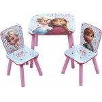 Set masuta si 2 scaunele Frozen