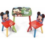 Set masuta si 2 scaunele Mickey Mouse