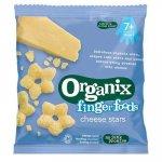 Snackuri Bio fara gluten stelute din porumb cu branza FingerFoods +7 luni 20 g Organix
