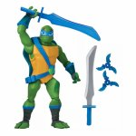Figurina Leonardo Testoasele Ninja cu accesorii de lupta