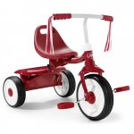 Tricicleta pliabila Radio Flyer Fold 2 Go Red