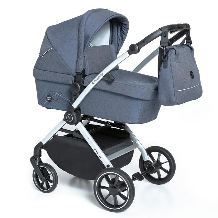 BABY DESIGN Carucior multifunctional 2 in 1 Baby Design Smooth 03 Navy 2020