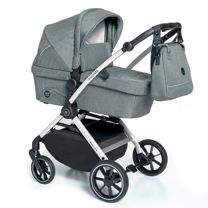 BABY DESIGN Carucior multifunctional 2 in 1 Baby Design Smooth 07 Gray 2020