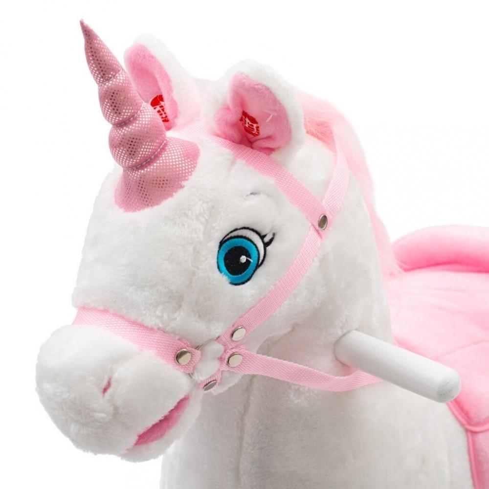 Balansoar cu melodii PlayTo Unicorn roz imagine