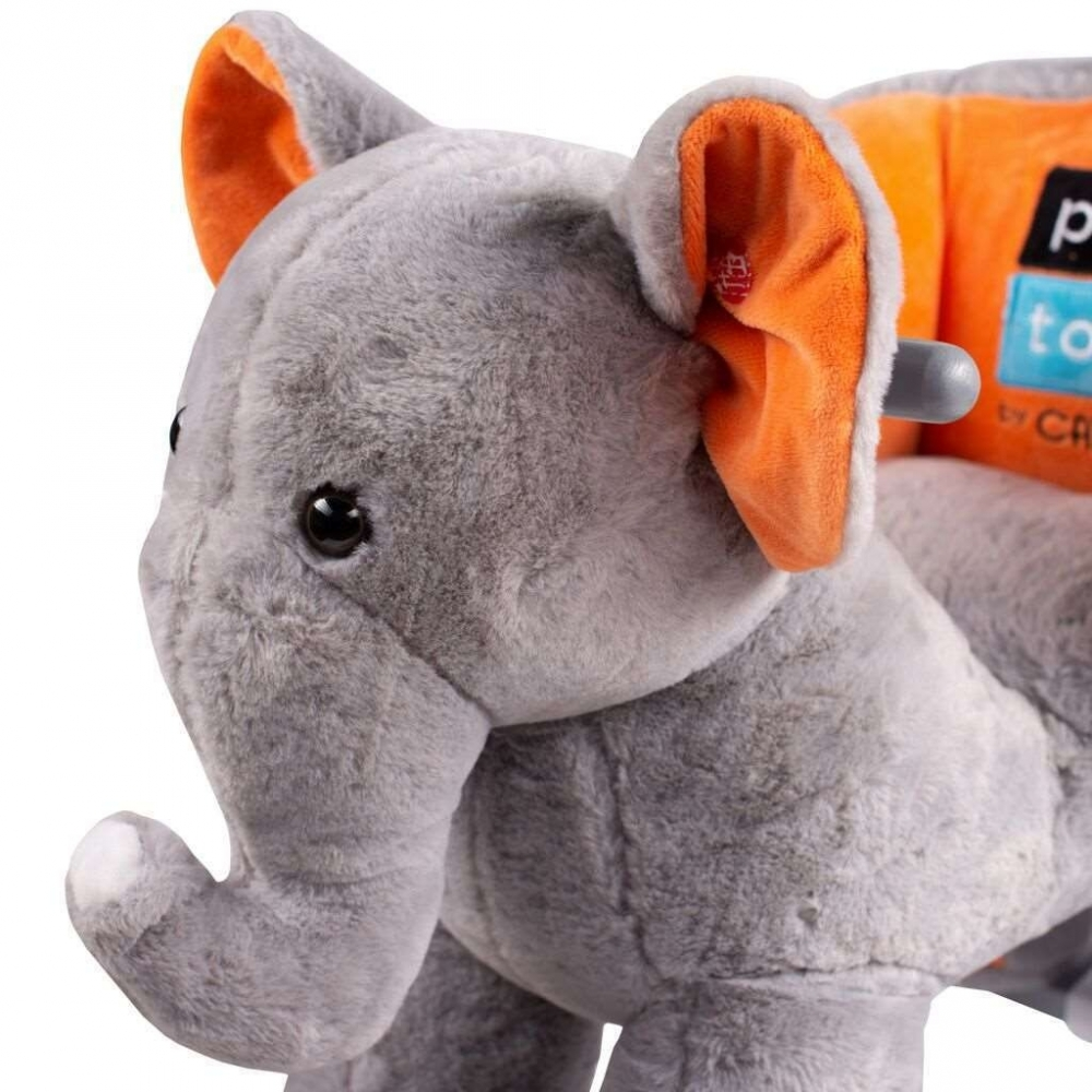 Balansoar de plus cu roti PlayTo Elefant imagine