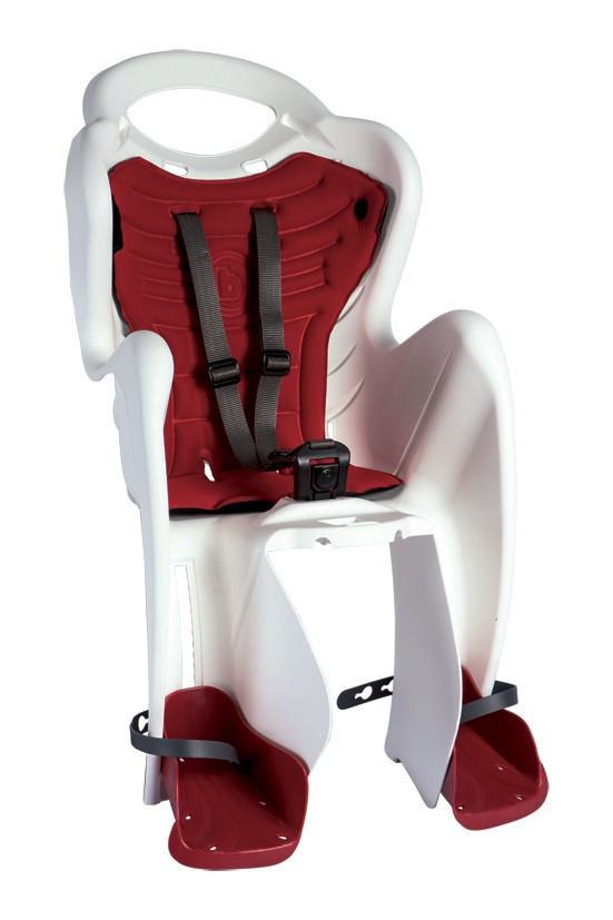 Scaun bicicleta pentru copii Bellelli Mr Fox Standard B-Fix White imagine