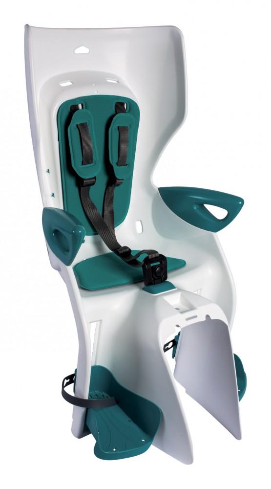 Bellelli Scaun bicicleta pentru copii Bellelli Summer Relax B-Fix White Turquoise