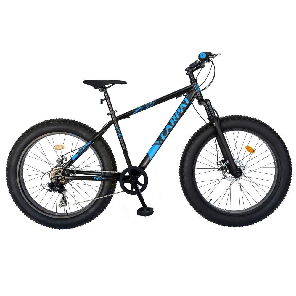 Bicicleta Fat Bike Carpat Hercules 20 inch C2019B 6 viteze culoare negrualbastru