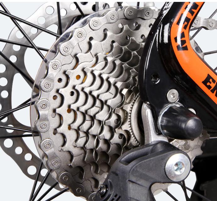 Bicicleta MTB-HT Forever F27A9B roata 27.5 cadru aluminiu 27 viteze culoare negrurosu