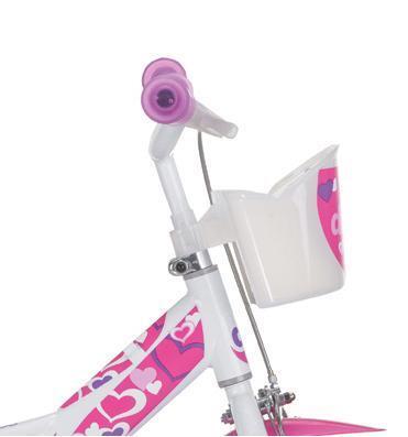 Bicicleta pentru copii 12 RLN Inimioare