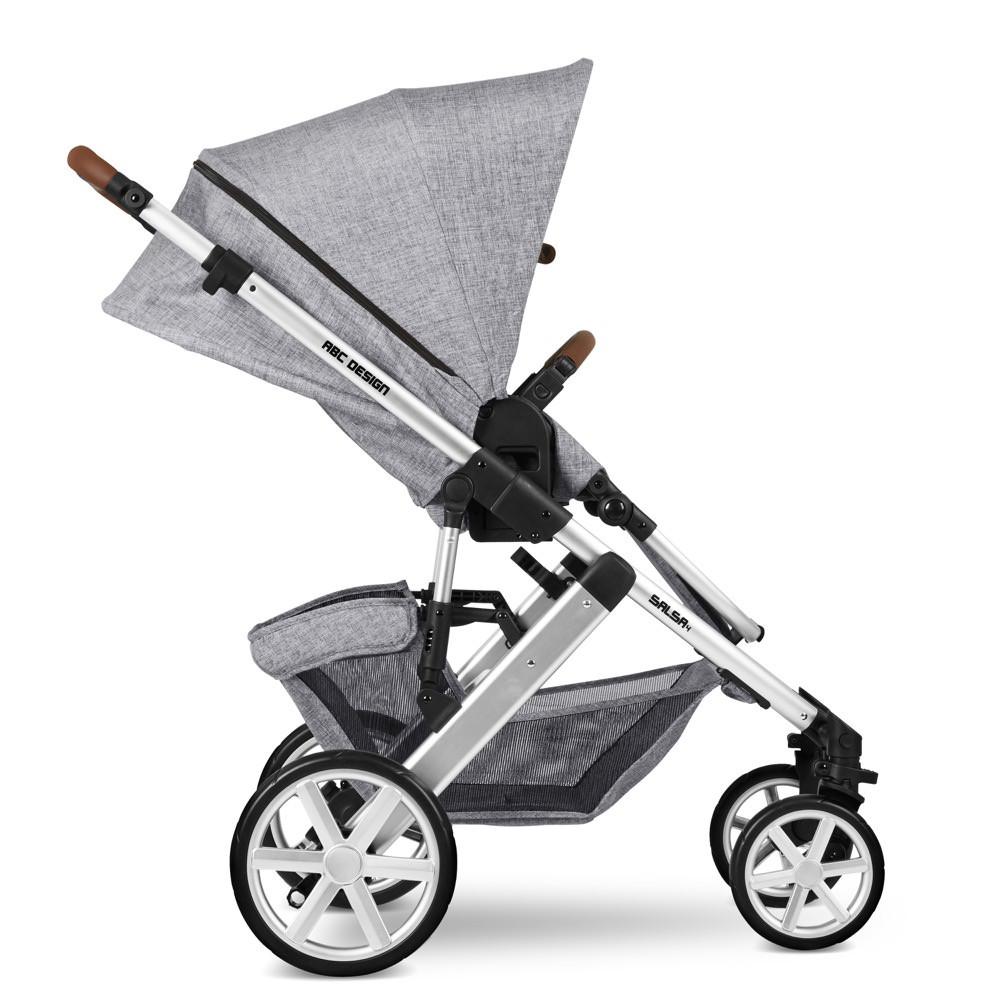 Carucior 2 in 1 Salsa 4 Graphite Grey ABC Design 2020 - 1