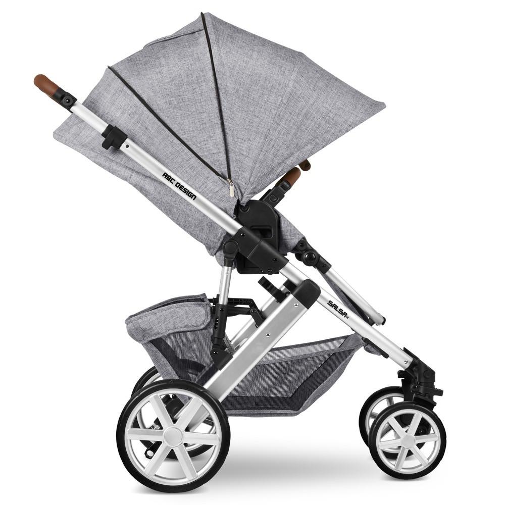 Carucior 2 in 1 Salsa 4 Graphite Grey ABC Design 2020 - 5