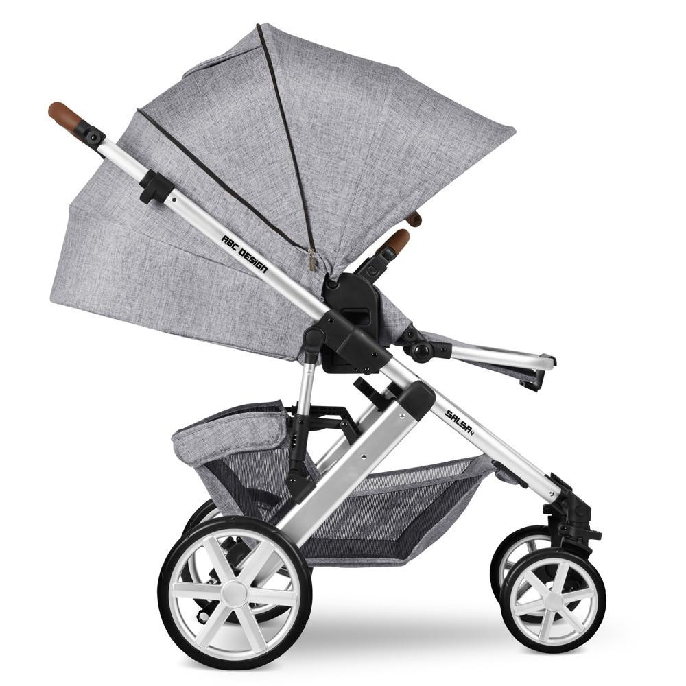 Carucior 2 in 1 Salsa 4 Graphite Grey ABC Design 2020 - 6