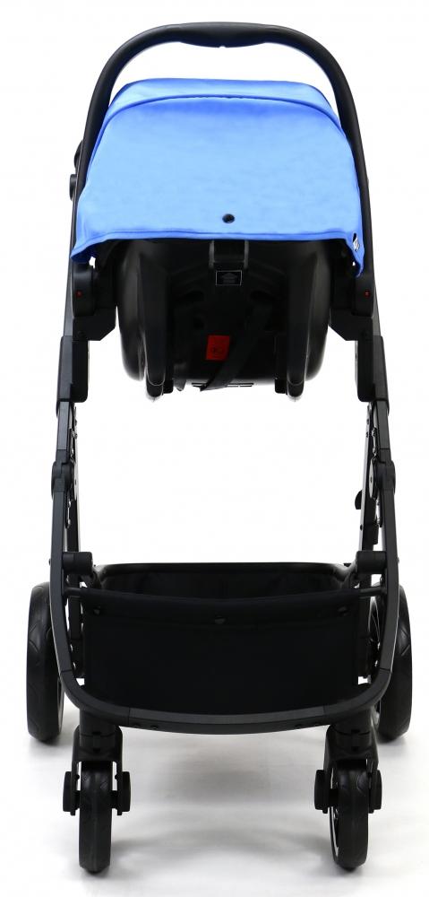 Carucior 3 in 1 Asalvo Convertible Two+ Blue - 6