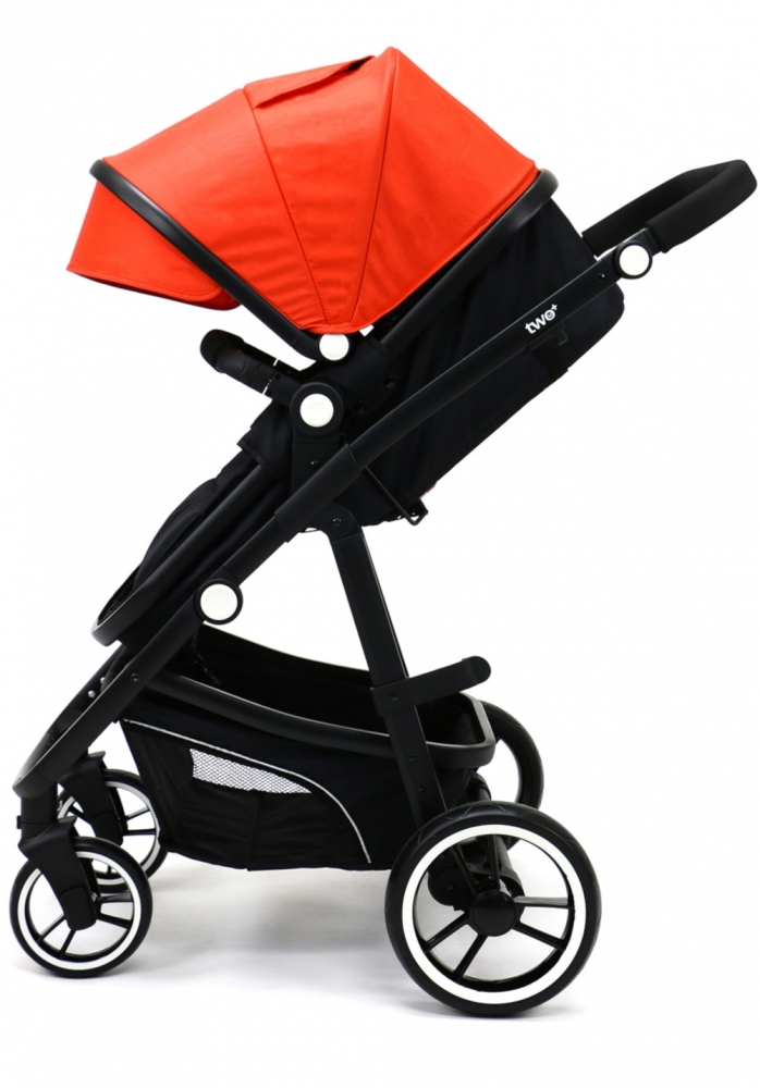 Carucior 3 in 1 Asalvo Convertible Two+ Red - 1