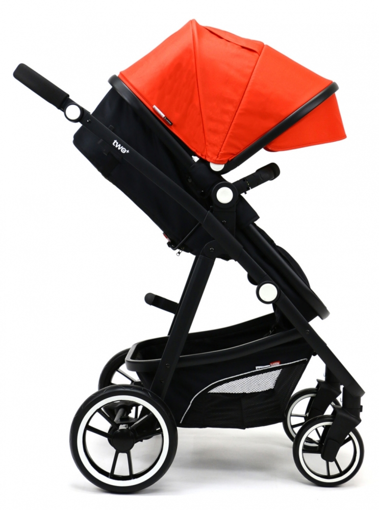 Carucior 3 in 1 Asalvo Convertible Two+ Red - 3
