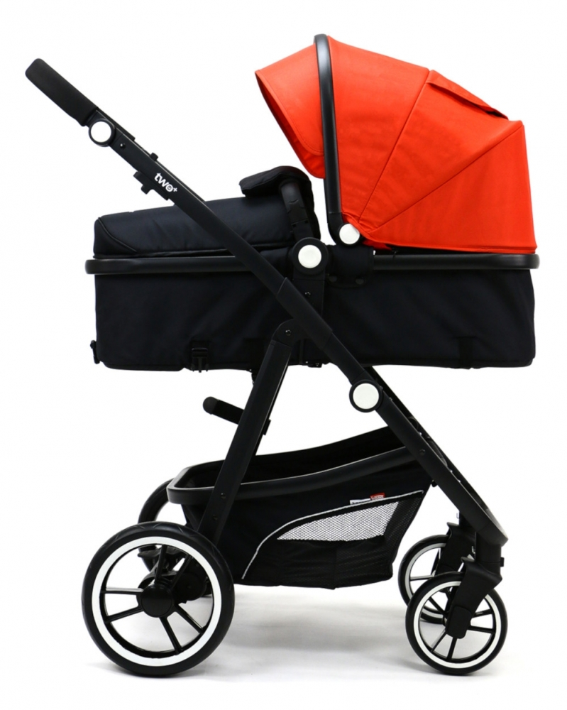 Carucior 3 in 1 Asalvo Convertible Two+ Red - 4