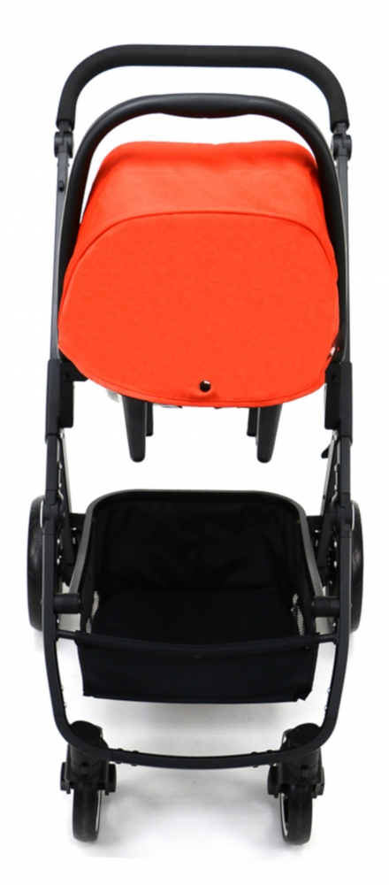 Carucior 3 in 1 Asalvo Convertible Two+ Red - 5