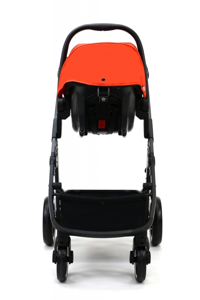 Carucior 3 in 1 Asalvo Convertible Two+ Red - 6