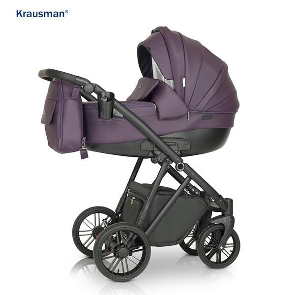 KRAUSMAN Carucior 3 in 1 LEXXO Purple